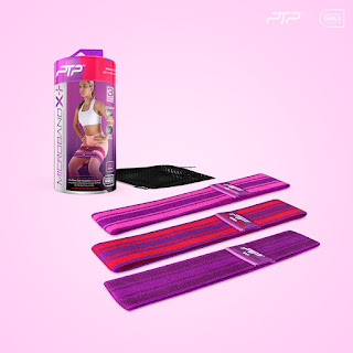 PTP Confident Girls Foundation Microband X+ 3 Pack
