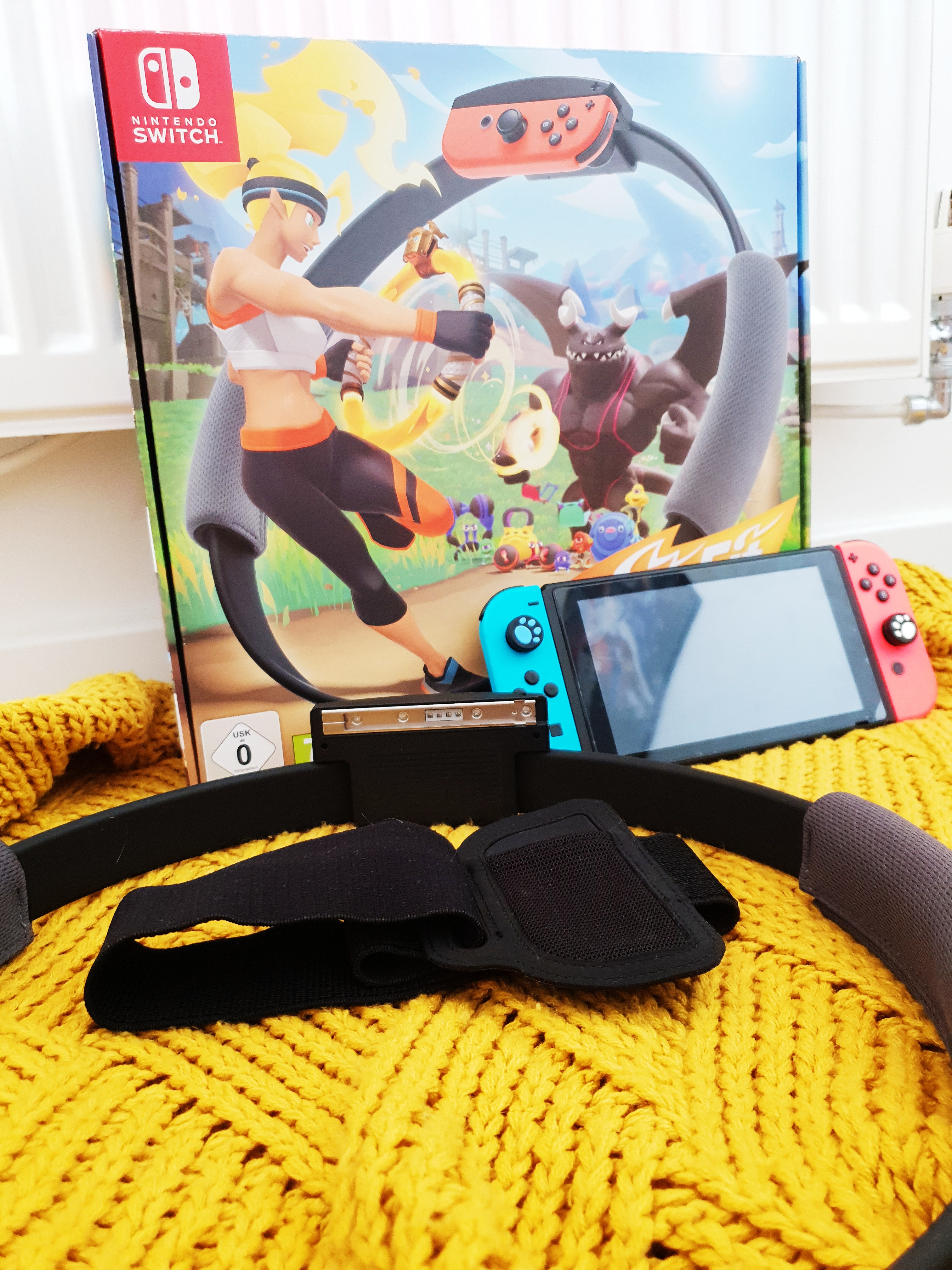 Nintendo Switch Ring Fit Adventure | First Impressions.
