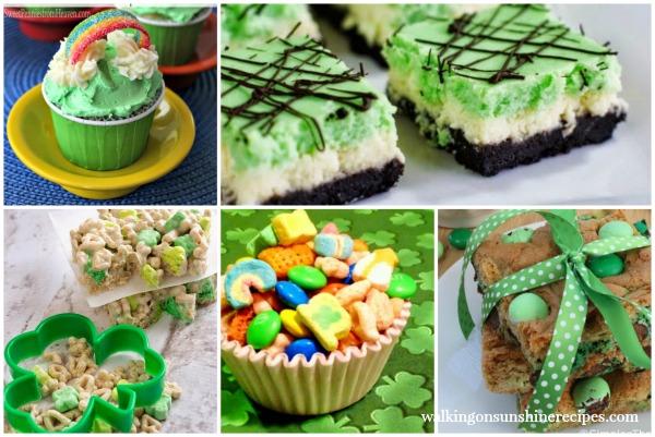 St. Patrick's Day Green Treats