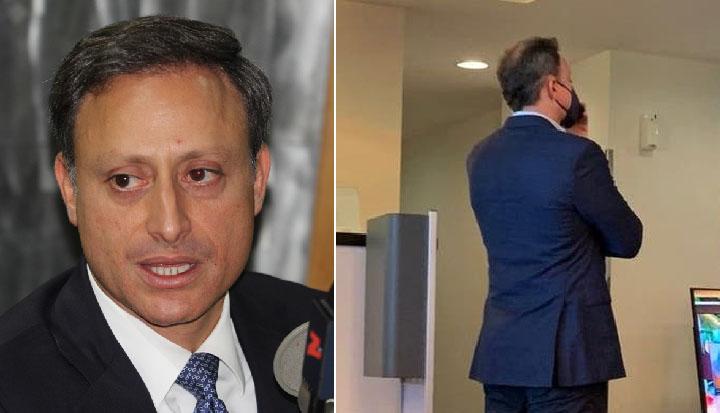 Jean Alain se pone a disposición de las autoridades ante incidente en el AILA