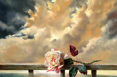 simbol bunga adalah mata cinta puisi