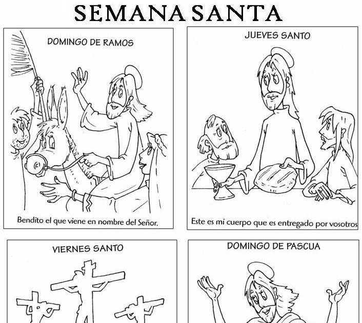 Imagenes De Semana Santa Para Niños