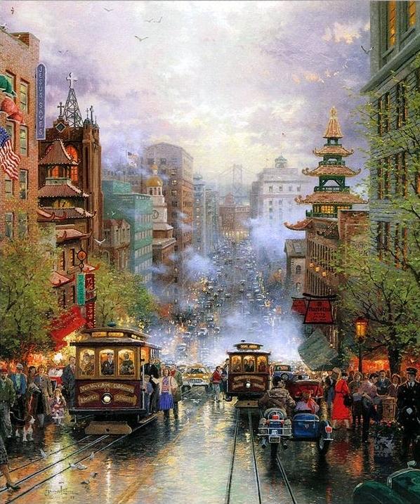 Hidden Images In Thomas Kinkade Disney Paintings
