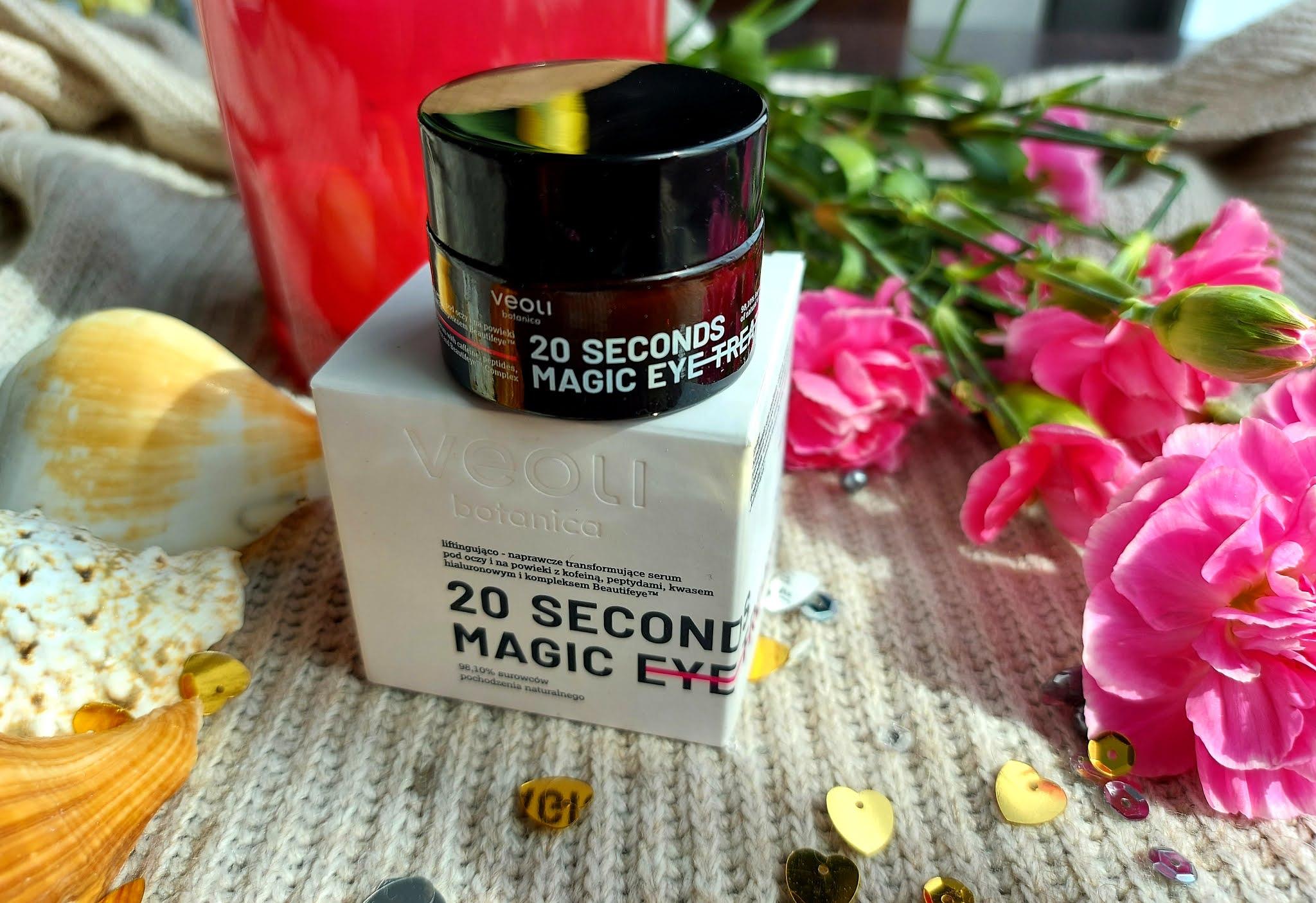 20 SECONDS MAGIC EYE TREATMENT - naturalny krem pod oczy od Veoli Botanica