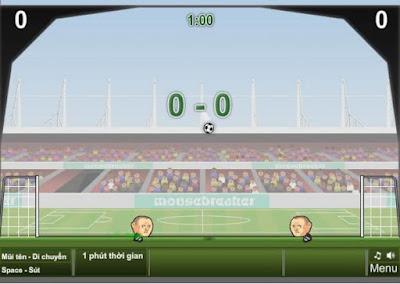 Game online bóng đá đầu to hay