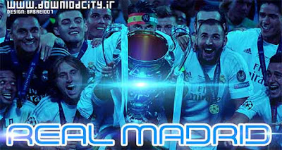 PES 2016 Real Madrid Champions UCL 2016 StartScreen By downlodcity.ir