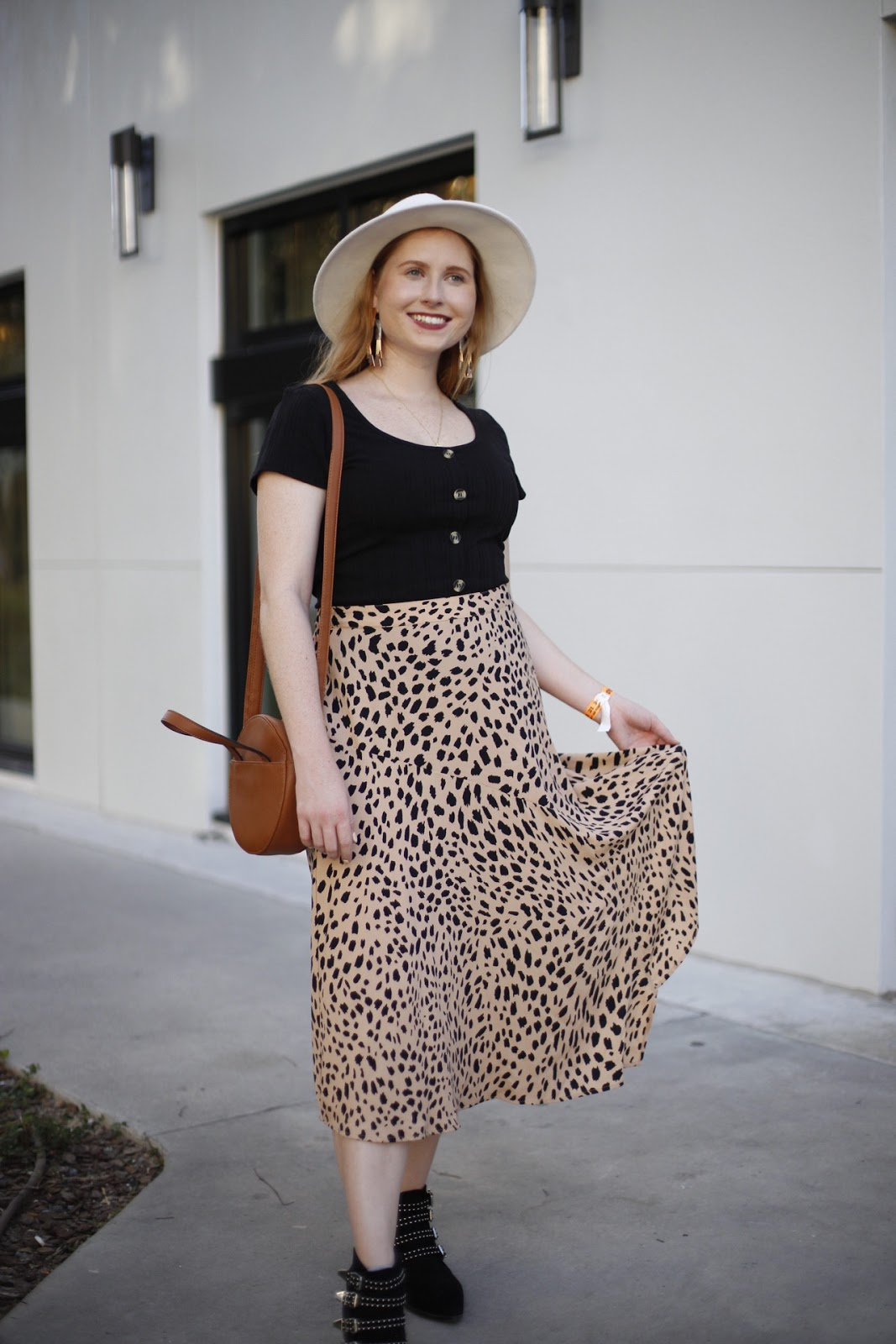 The Leopard Midi Skirt I Can't Stop Wearing for Fall