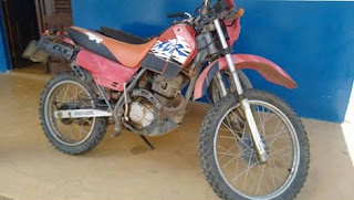 Moto sem queixa de roubo é encontrada em Cuité