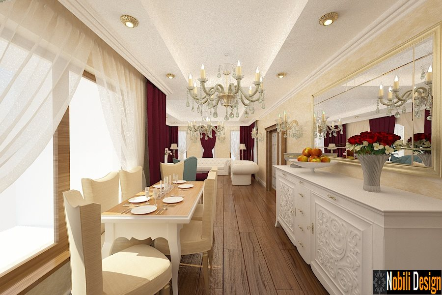 Design interior living stil clasic Bucuresti - Design interior casa clasica Bucuresti