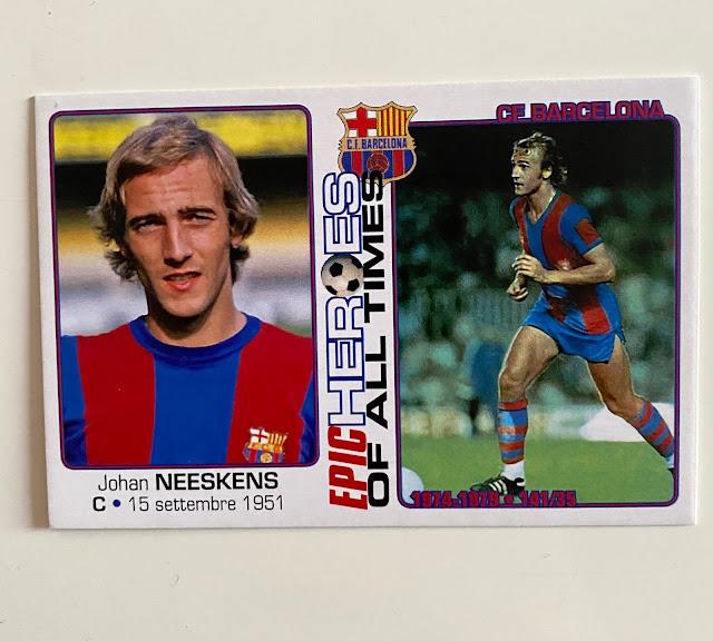 figurina Neeskens Barcelona