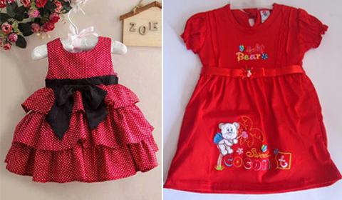 gambar baju anak perempuan umur 2 tahun