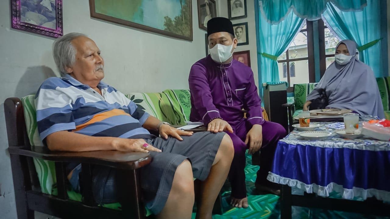 Bersama Istri, Nizar Berkunjung Ke Rumah Zuriat Raja Ali Haji