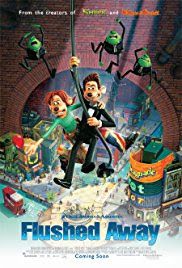Flushed Away Poster