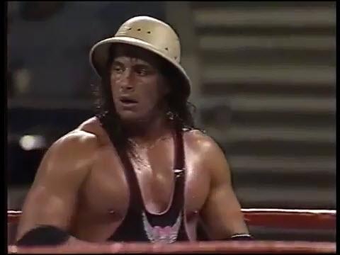 ProWresBlog: WWF 8/10/1992 - IC Title - Bret Hart vs Kamala