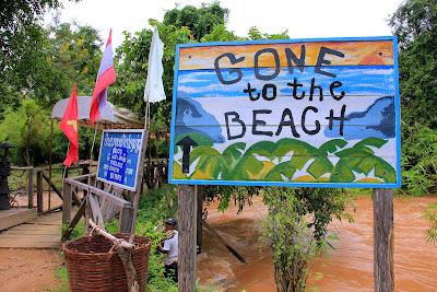 Sandy Li Phi Falls - cascate Somphamit