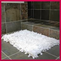 Alfombra de toallas