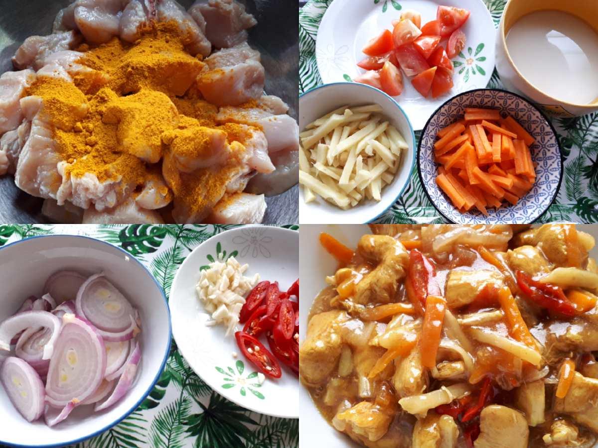 Resepi Ayam Masak Halia Mudah Guna Bahan Apa Ada Je Yaya