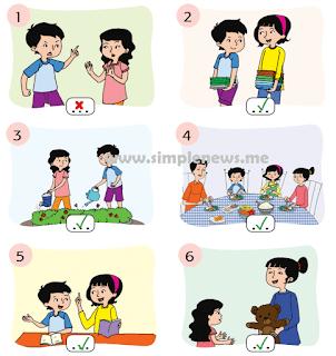 Contoh perilaku di rumah yang sesuai sila ketiga Pancasila www.simplenews.me