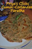 Kothimbir -paratha