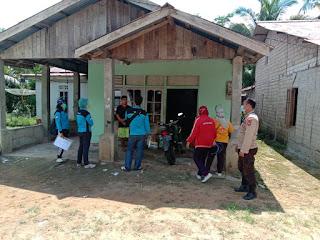 Warga di Kecamatan Sebangki Tes Swab/Pcr Oleh Petugas Tracer Puskesmas Sebangki