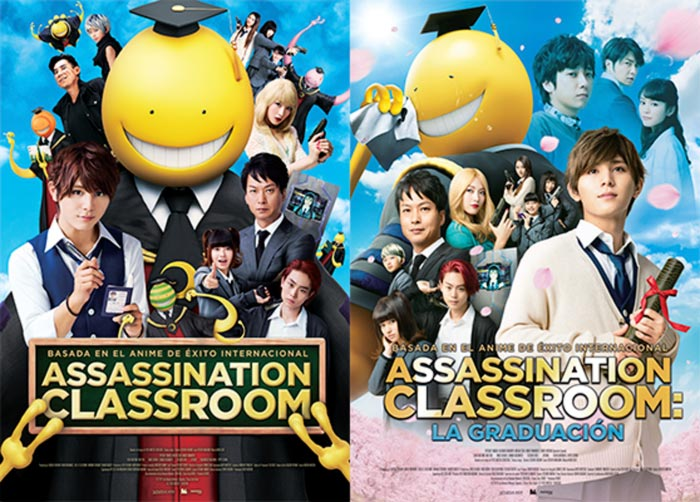Assassination Classroom live-action - Mediatres Estudio
