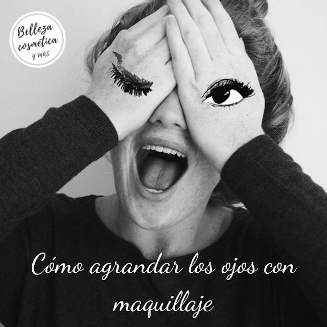 Agrandar los ojos con maquillaje | 8 trucos con maquillaje para unos ojos más grandes