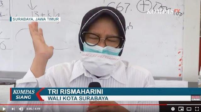 Jatim Alami Lonjakan Corona dan Surabaya Paling Banyak, Risma: Saya Enggak Peduli Dikatakan Tinggi