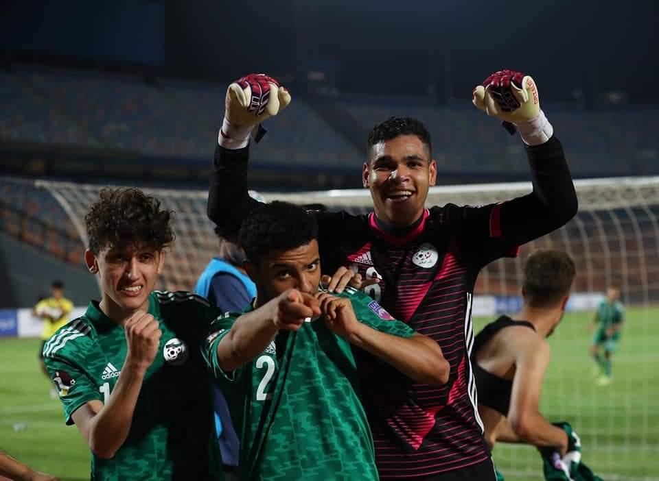 كأس العرب تحت 20 سنة : الجزائر في المربع الذهبي