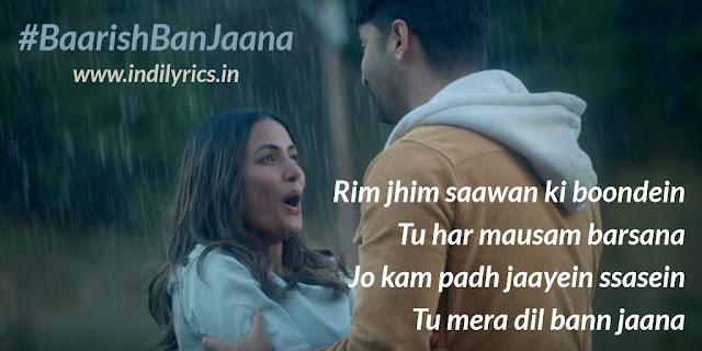 Baarish Ban Jaana - Shaheer Sheikh, Hina Khan Pics   Quotes   Images   Lyrics