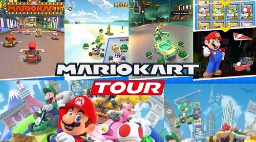 Mario Kart Tour is a free to play game