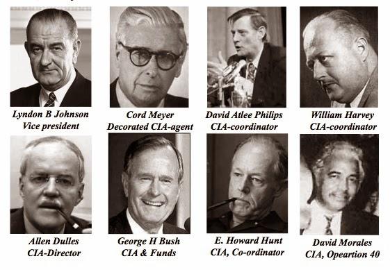 Resultado de imagen de CIA  documentos Ted Cruz  asesinato de Kennedy