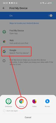 Google seacth di browser chrome