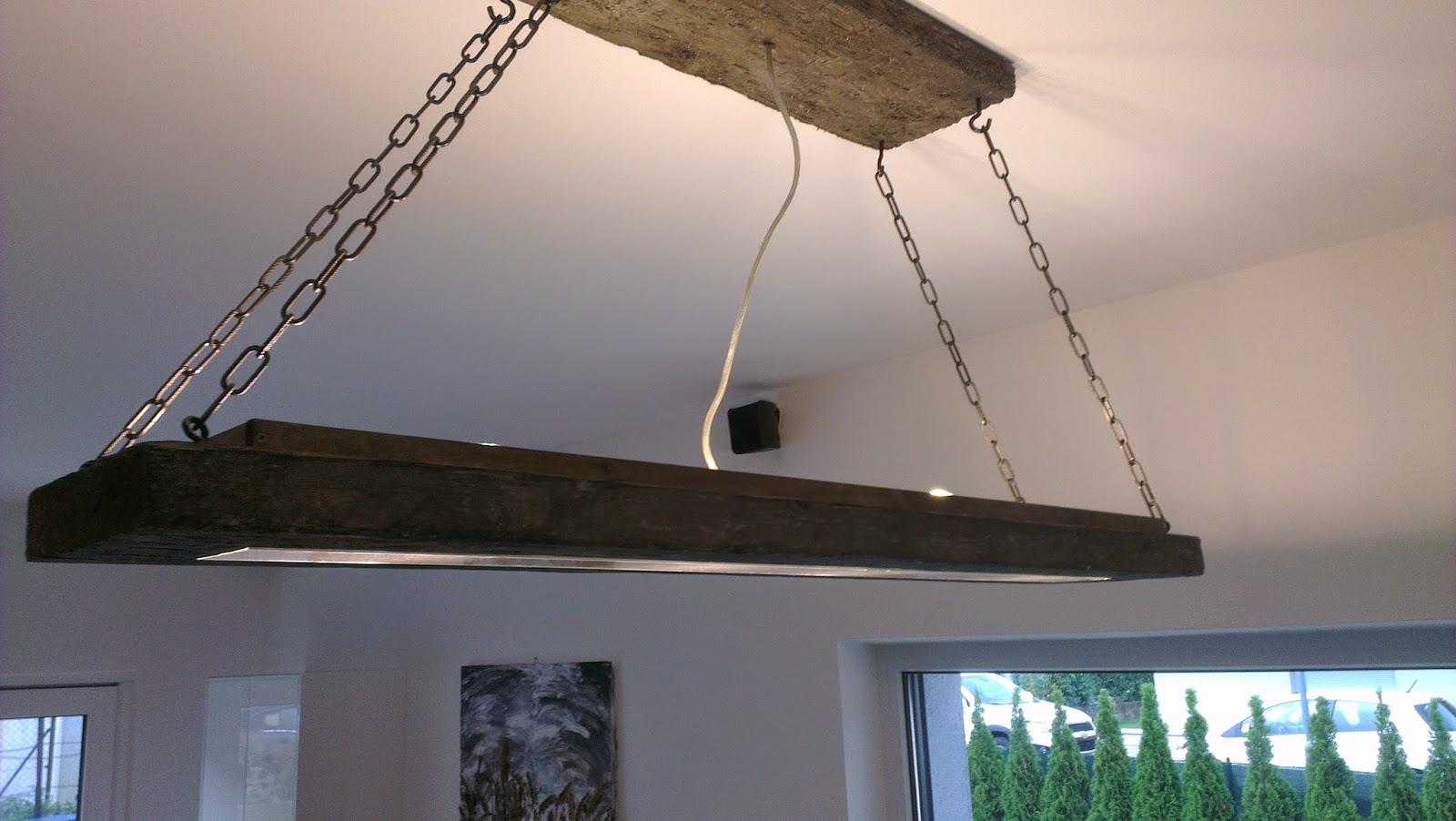 Hausbau das tor zur h lle die esstisch lampe for Esstisch lampe selber bauen