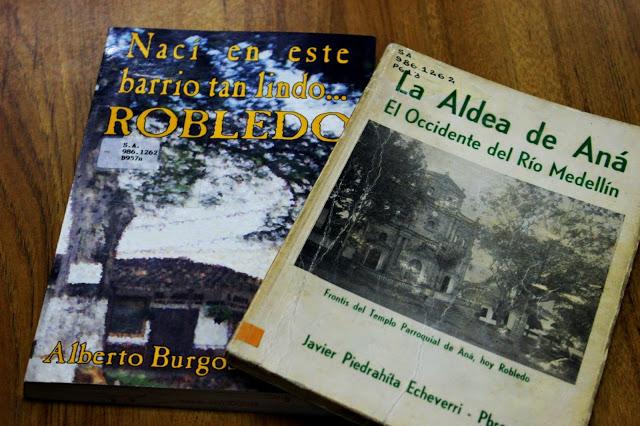 Libros históricos sobre el Barrio Robledo en Medellín