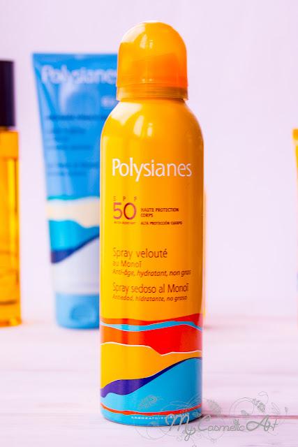 Polysianes, solares e hidratación.