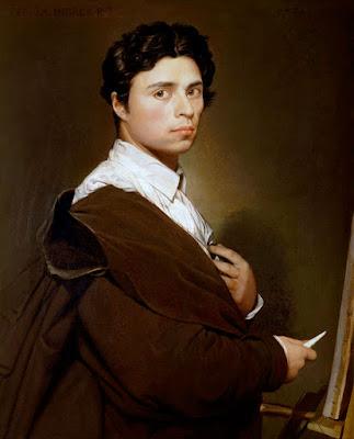 Jean-Auguste-Dominique Ingres, autoportrait à vingt-quatre ans 1804, Musée Condé.