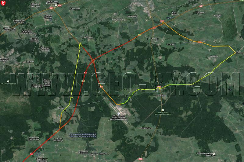 Карта поездки 'Вокруг Петрович-4'
