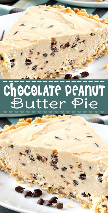 #Chocolate #Peanut Butter #Pie #RECIPE #COMFORTFOOD
