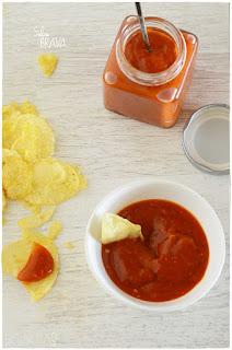 salsa brava casera fácil en thermomix
