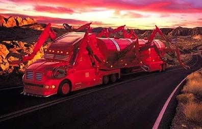 modifiksai truk ekstrim dengan serangga