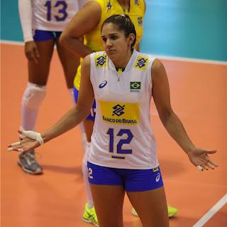 Natália vôlei feminino seleção brasileira