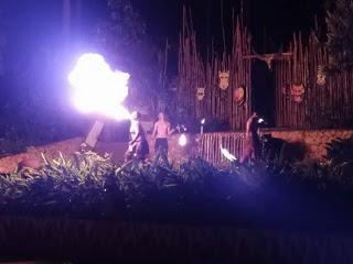 Fire Show di Bukit Gambang Safari Park