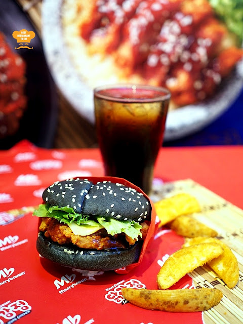 Gangjeong Chicken Burger Combo