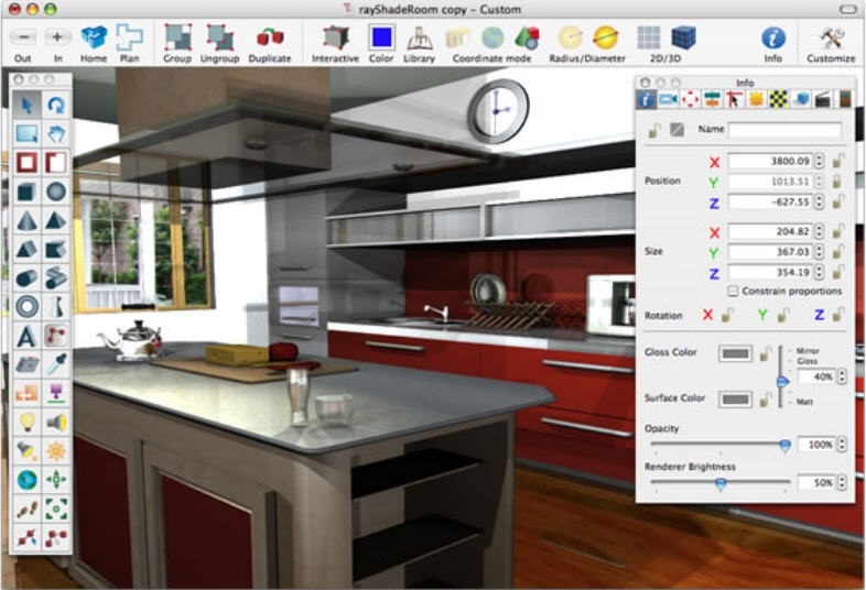 Kitchen Furniture And Interior Design Software Free Download Online