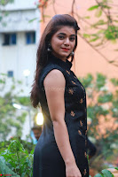 Actress Yamini Bhaskar in a Tight Black Sleeveless Dress ~  Exclusive 08.JPG