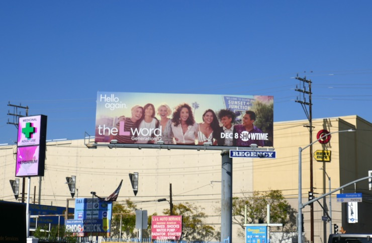 L Word Generation Q series billboard