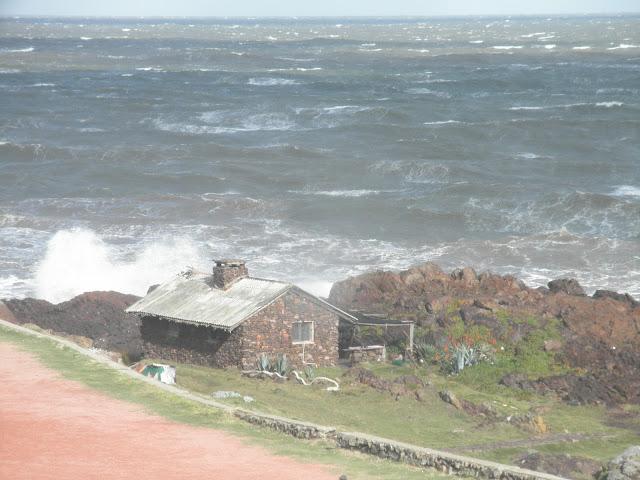 Vista da Punta Ballena - Uruguai