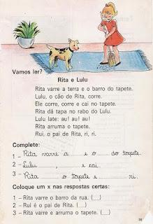 Leitura Rita e Lulu