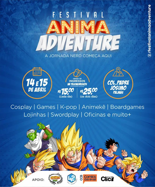 festival anima adventure palmas to