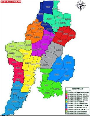 Daftar Lengkap Kode Pos Kota Bekasi Provinsi Jawa Barat